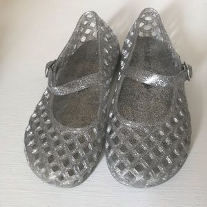 Shoes - Glitter jelly shoes
